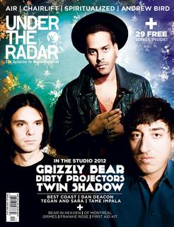 On the cover of Under the Radar's March/April 2012 Edition