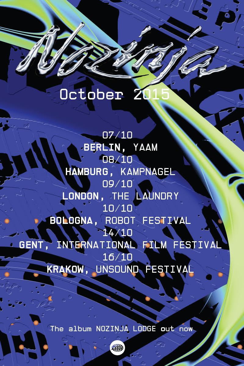 October European Dates Announced