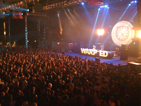 Warp/Ed Last Night
