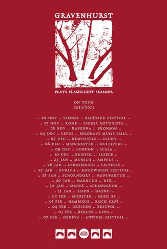 Announcing 'Flashlight Seasons' 10 Year Anniversary Tour