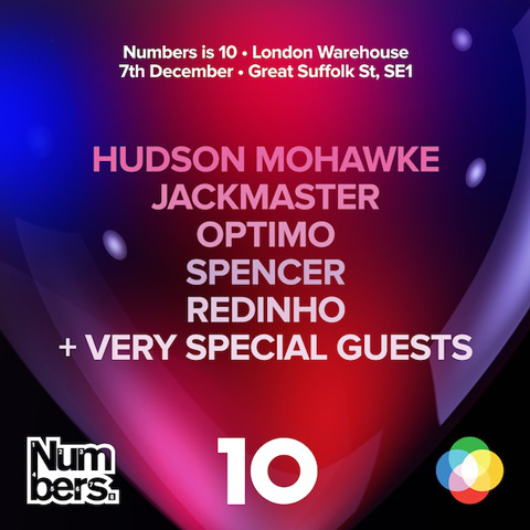 Win one of three pairs of tickets to the Numbers 10 party on Saturday December 7
