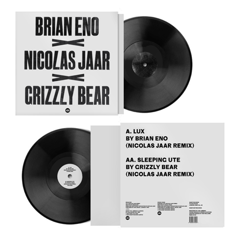 "Split 12"" of Nicolas Jaar remixes for Record Store Day"
