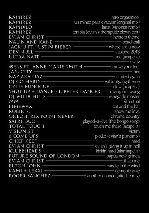 'Lord Of The Trance' mix for Dazed And Confused
