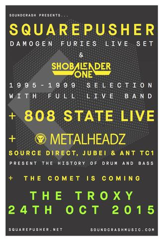 'Damogen Furies' & 'Shobaleader One' 1995-1999 Selection with full live band