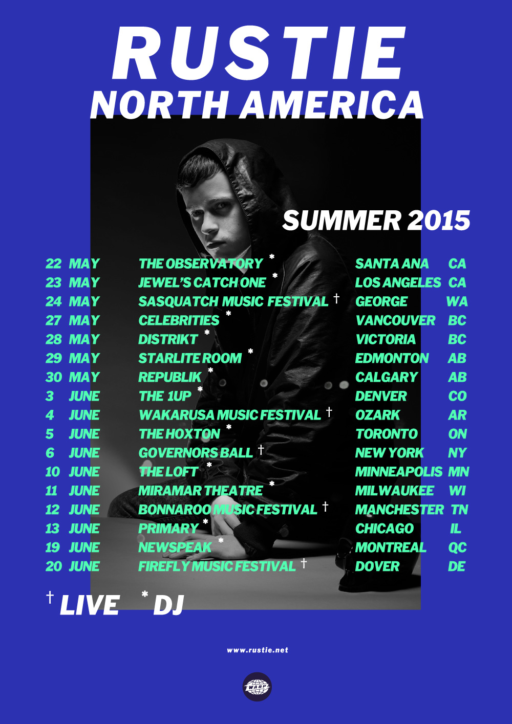 Rustie's North American Tour