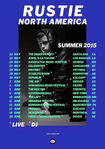 Rustie's North American Tour