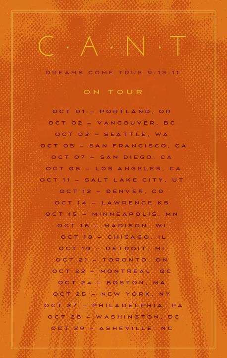 Chris Taylor announces North American Tour Dates for forthcoming CANT solo album