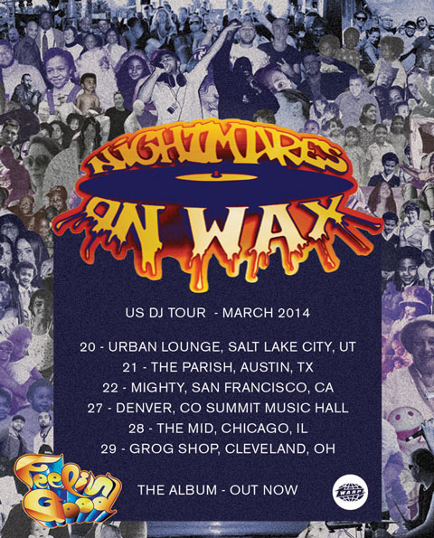Announcing DJ sets across the US in March 2014