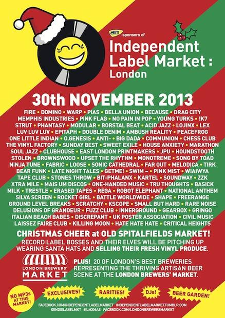 Independent Label Market: London November 30