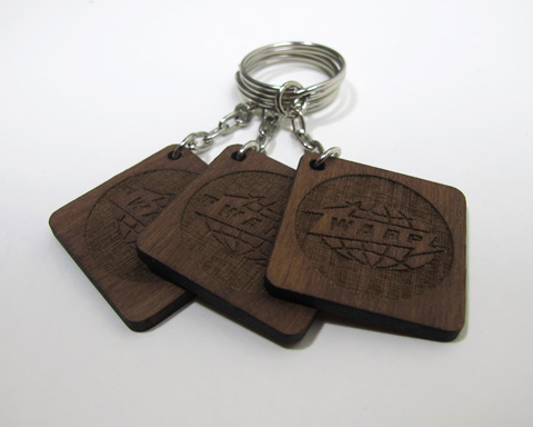 Win one of five limited Warp key rings