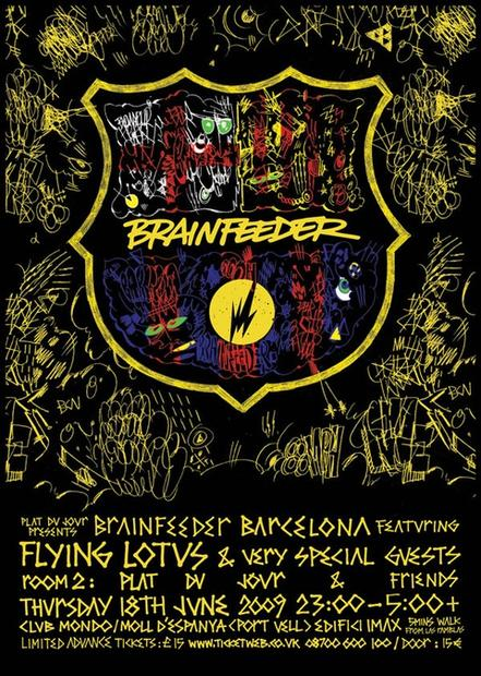 Brainfeeder events in London and Barcelona in June