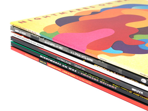 Six albums re-released as gatefold 2LP editions