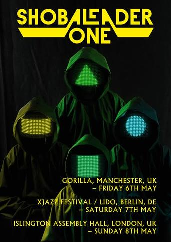 Shobaleader One headline shows announced