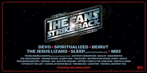 Added to ATP UK 'The Fans Strike Back' line up