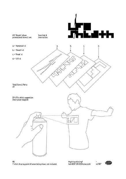 New Album 'Sheath' and Stencil Competition