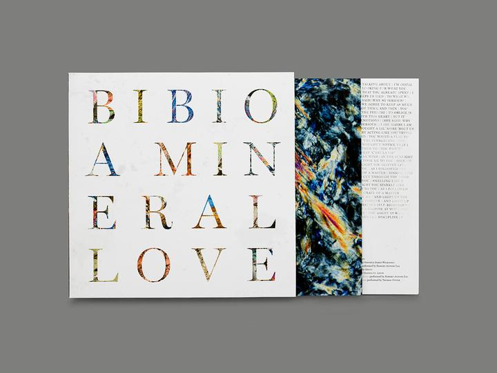 'A Mineral Love' out now