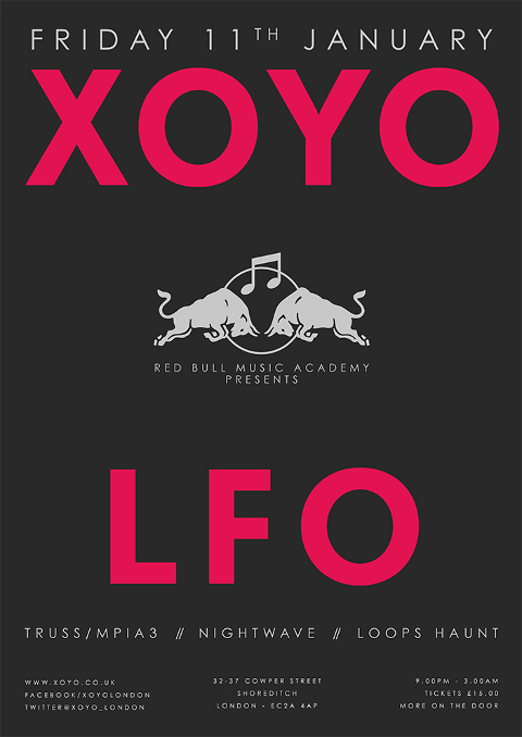 Full live show announced at XOYO