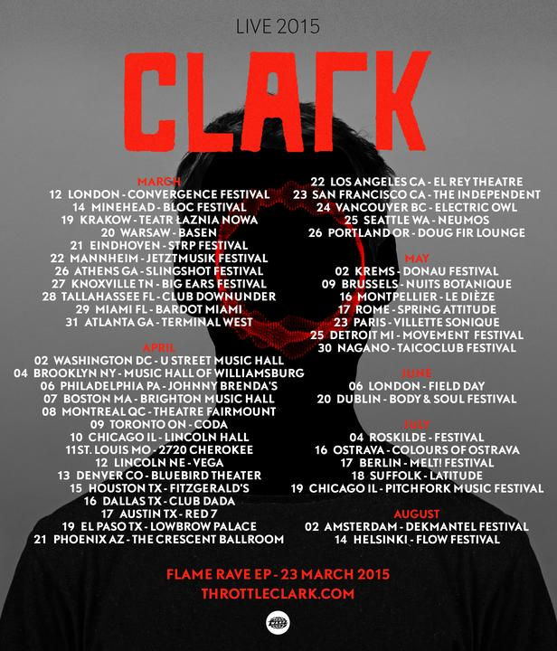 40+ festival and headline shows around the world