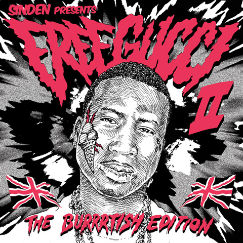Download new unofficial remixes on Free Gucci II mixtape compiled by Sinden (feat Terror Danjah, Mosca, Wiley & more)