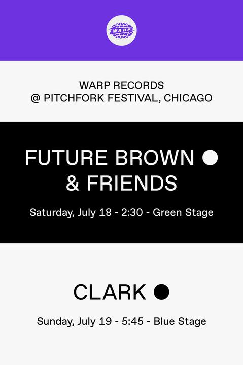 Warp in Chicago July 18 & 19