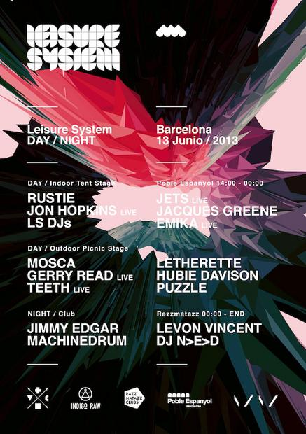 Rustie to headline Leisure System Party in Barcelona