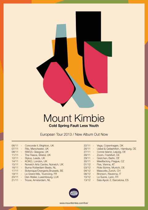 European Autumn/Winter Tour Announced