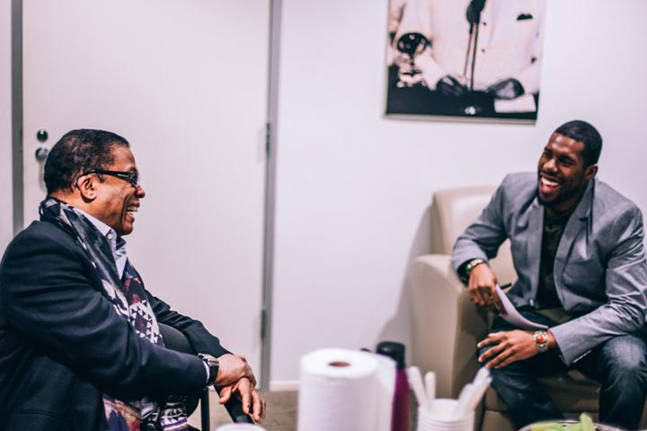Watch the full conversation with Herbie Hancock via Grammy U