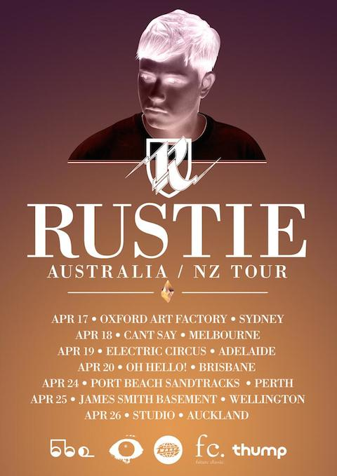 Catch shows in Australia and New Zealand throughout April