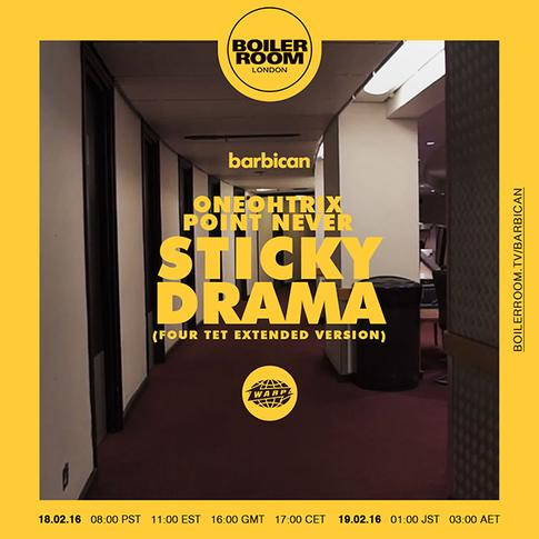 'Sticky Drama (Four Tet Extended Version)' Boiler Room broadcast