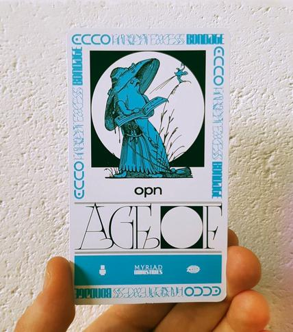'Age Of' Collectors Cards available at participating Indie Retailers