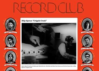 Record Club video with Beck and James Gadsen