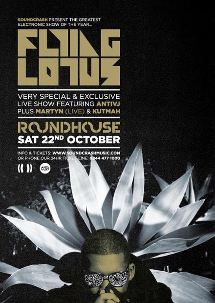 Martyn & Kutmah announced as supports for The Roundhouse, London - special performance with AntiVJ