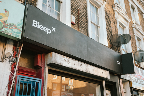 Bleep x opens in London