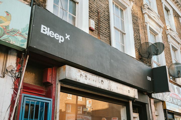 Bleep x opens in London