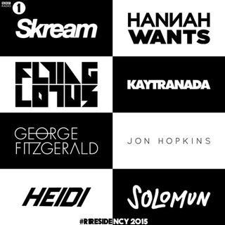 BBC Radio 1's Residency line-up