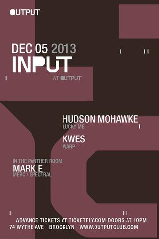 Headline performances at Output on Dec 5