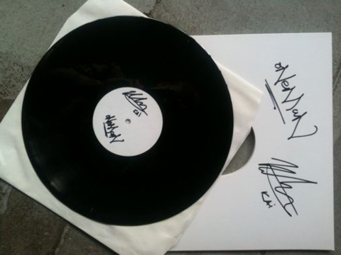 "Bid on one of three 12"" vinyl with the Oneman remix of 'You Took Your Time', sold for Shelter UK"