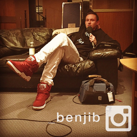 Tune in next week for a Warp Maida Vale Session and Essential Mix for Benji B