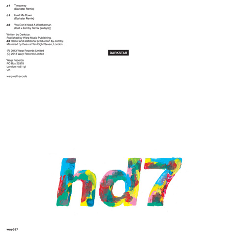 Announcing 'HD7' EP and stream of remix by Kollaps