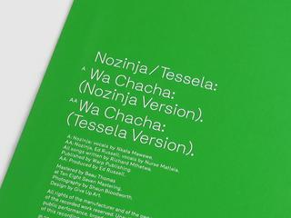 "'Wa Chacha', a split 12"" with Tessela is out now on Bleep"