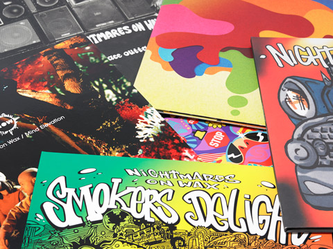 The first 6 albums are now available on double gatefold vinyl