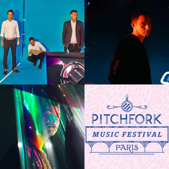 Rustie, Hudson Mohawke & Battles at Pitchfork Festival Paris 2015